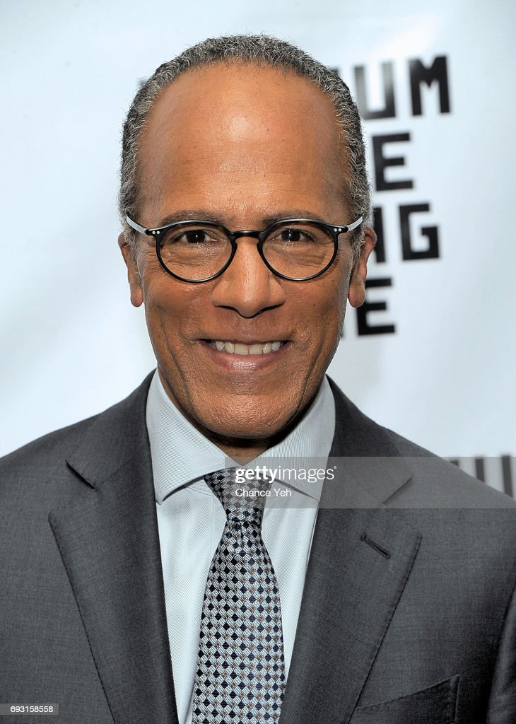 Lester Holt attends 2017 Museum Of The Moving Image Industry Honors at Park Hyatt Hotel New York on June 6, 2017 in New York City.
