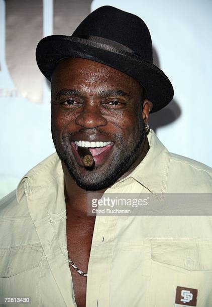 Lester 'Rasta' Speight attends MGM's 'Rocky Balboa' prerelease kickoff bash at The Garden of Eden on December 12 2006 in Los Angeles California