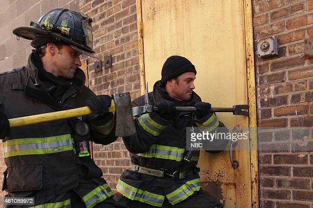 FIRE 'Let Him Die' Episode 311 Pictured Jesse Spencer as Matthew Casey Taylor Kinney as Kelly Severide