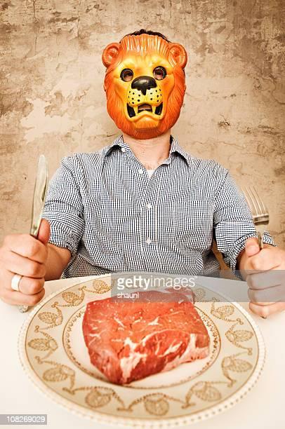 Let him eat Steak