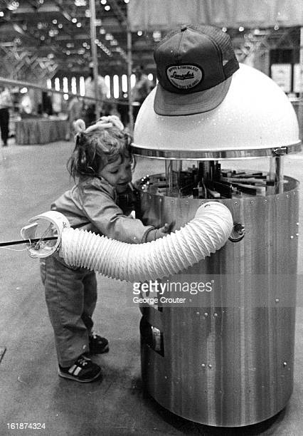 APR 17 1982 Let Me Entertain You Cristy Taylor a visitor from Michigan found this robot lovable but too big for her to embrace properly although the...