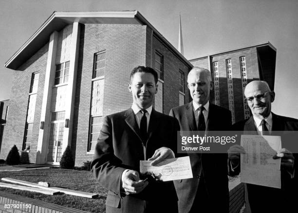 FEB 1963 FEB 16 1963 'Let Us Rise Up and Build a Sanctuary' A symbolic burning of the mortgage which will actually take place next weekend at the...