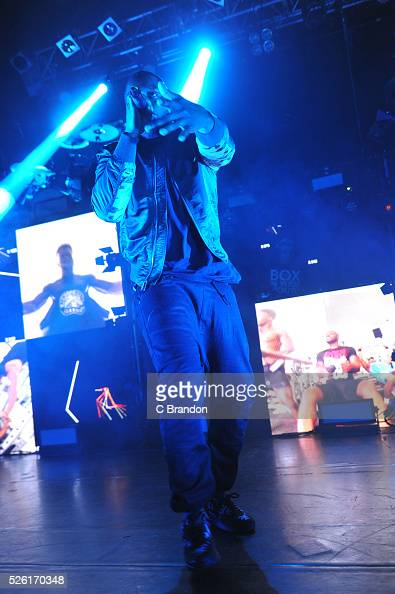 Lethal Bizzle performs on stage at KOKO on April 29 2016 in London England