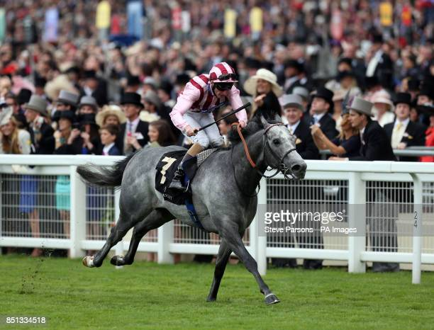 Lethal Force ridden by Adam Kirby wins the Diamond Jubilee Stakes during day five of the Royal Ascot meeting at Ascot Racecourse Berkshire