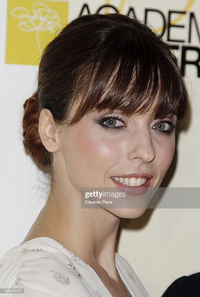 Leticia Dolera attends Academia del perfume awards photocall at Casa de America on November 20, 2012 in Madrid, Spain.
