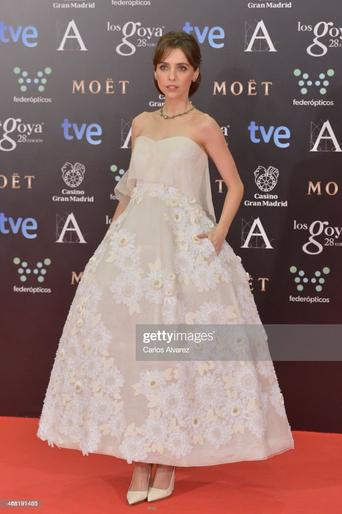 Leticia Dolera attends Goya Cinema Awards 2014 at Centro de Congresos Principe Felipe on February 9, 2014 in Madrid, Spain.