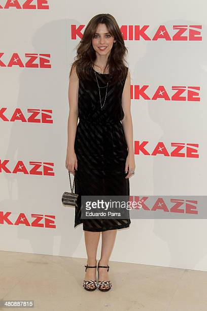 Leticia Dolera attends 'Kamikaze' photocall at Hesperia hotel on March 27 2014 in Madrid Spain