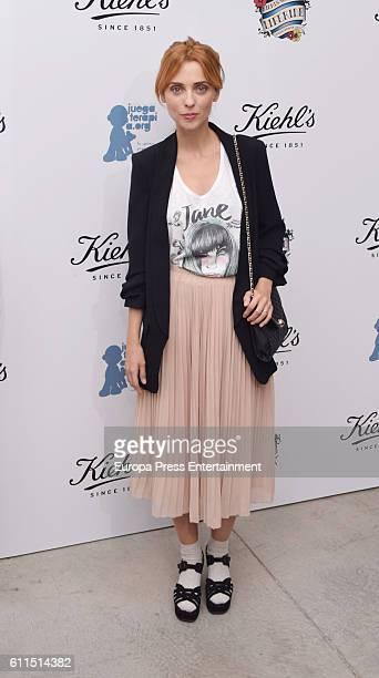 Leticia Dolera attends 'Kiehls's Since 1851' 10th anniversary charity event at Espacio Hermosilla on September 29 2016 in Madrid Spain
