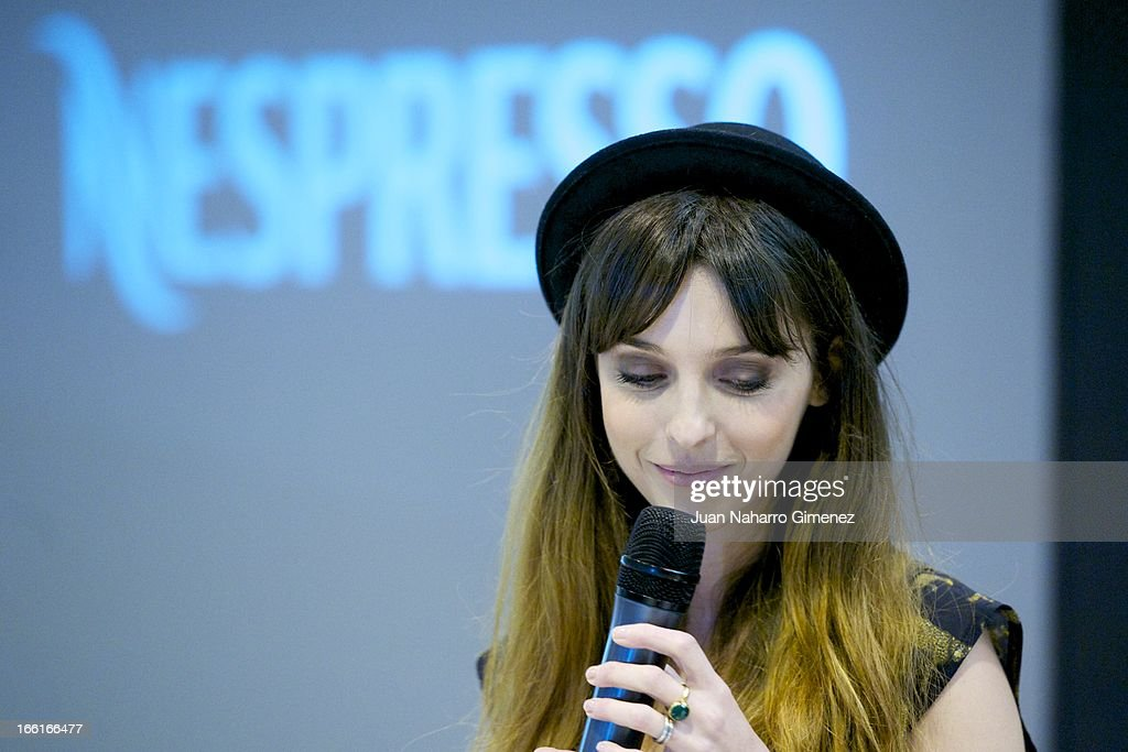 <a gi-track='captionPersonalityLinkClicked' href=/galleries/search?phrase=Leticia+Dolera&family=editorial&specificpeople=789515 ng-click='$event.stopPropagation()'>Leticia Dolera</a> attends Nespresso audiovisual competition 'Descubriendo las 1.001 formas de tomar cafe en Espana' during 'XXVII Edition of the Salon Gourmets at Ifema on April 9, 2013 in Madrid, Spain.