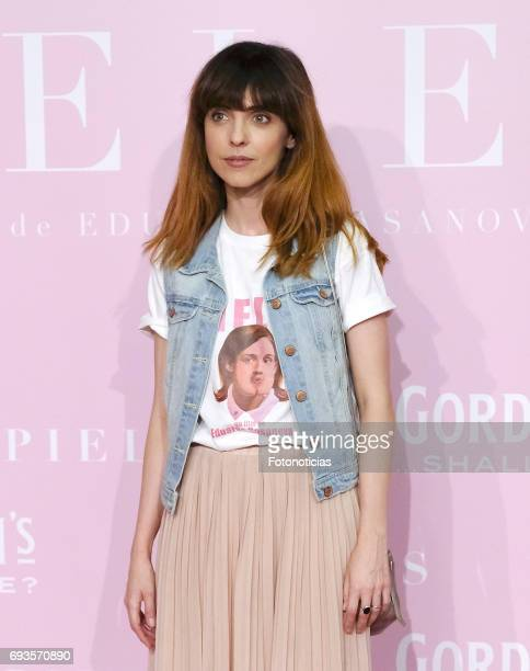 Leticia Dolera attends the 'Pieles' premiere pink carpet at Capitol cinema on June 7 2017 in Madrid Spain
