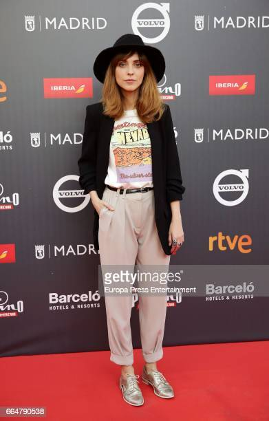 Leticia Dolera attends the 'Platino Awards 2017' presentation at the Madrid City Hall on April 4 2017 in Madrid Spain