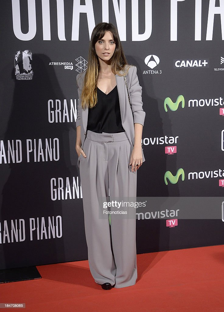 <a gi-track='captionPersonalityLinkClicked' href=/galleries/search?phrase=Leticia+Dolera&family=editorial&specificpeople=789515 ng-click='$event.stopPropagation()'>Leticia Dolera</a> attends the premiere of 'Grand Piano' at Capitol cinema on October 15, 2013 in Madrid, Spain.