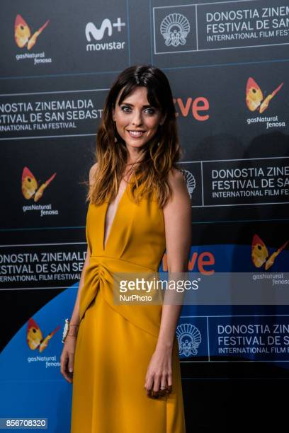 Leticia Dolera attends the red carpet of the closure gala during 65th San Sebastian Film Festival at Kursaal on September 30 2017 in San Sebastian...