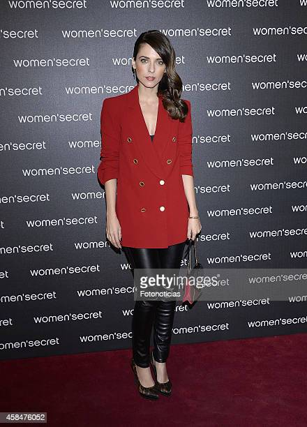 Leticia Dolera attends the Women Secret's 'Dark Seduction' fashion film premiere at Callao Cinema on November 5 2014 in Madrid Spain