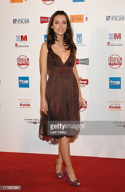 Leticia Dolera during 'Jose Maria Forque' Cinema AwardMay 8 2007 at Teatro Real in Madrid Spain