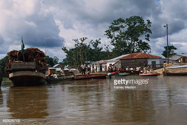 Leticia in the Amazonas department of Colombia South America 1971 It is a major port on the Amazon River