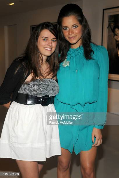 """Leticia Pierce and Amber Coffman attend PRISM Presents """"ARAKI A PERSPECTIVE"""" Works by NOBUYOSHI ARAKI at Prism Gallery on March 6 2010 in West..."""