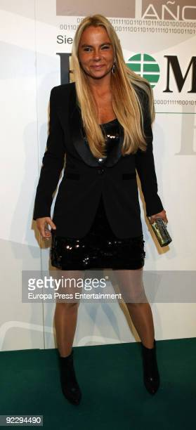 Leticia Sabater attends 'El Mundo' Newspaper's 20th Anniversary party on October 22 2009 in Madrid Spain