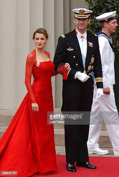 Letizia Ortiz Rocasolano and Crown Prince Felipe of Spain