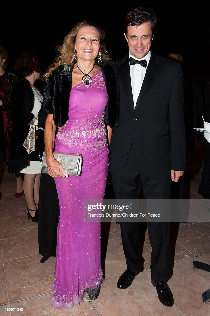 Letizia Vanni attends the 'Opera Romeo and Juliette' : Gala to the benefit of the The Children for Peace association, on October 26, 2013 in Monte-Carlo, Monaco.