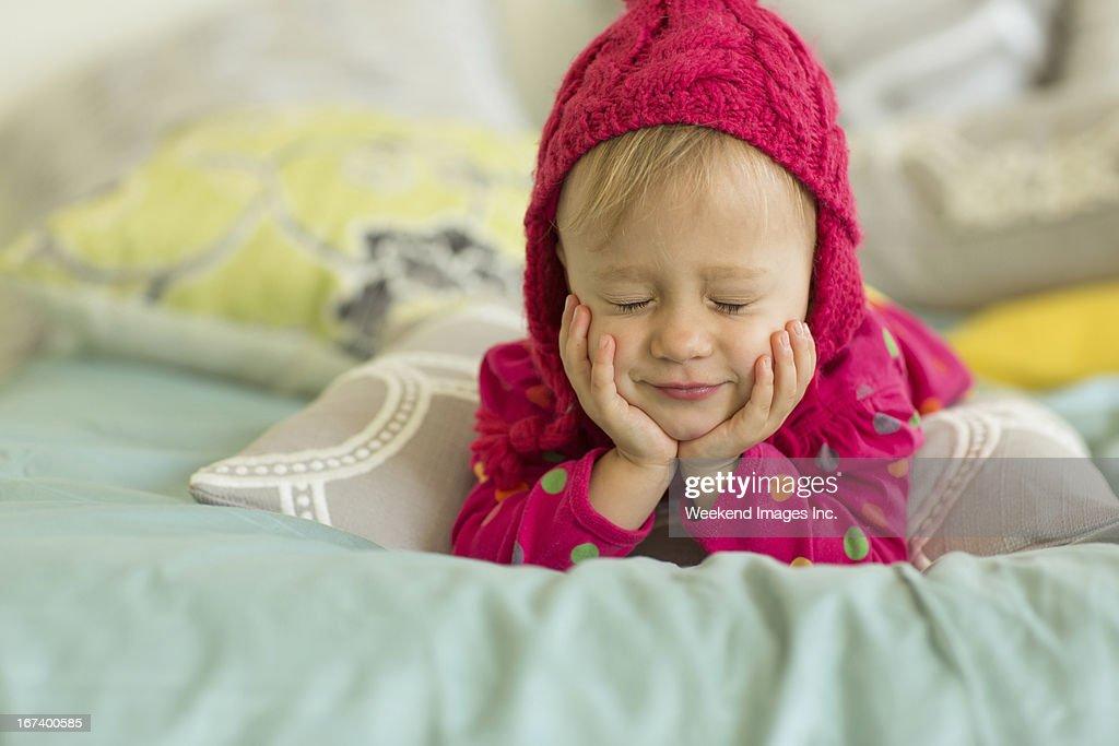 少し Letme 眠り : ストックフォト