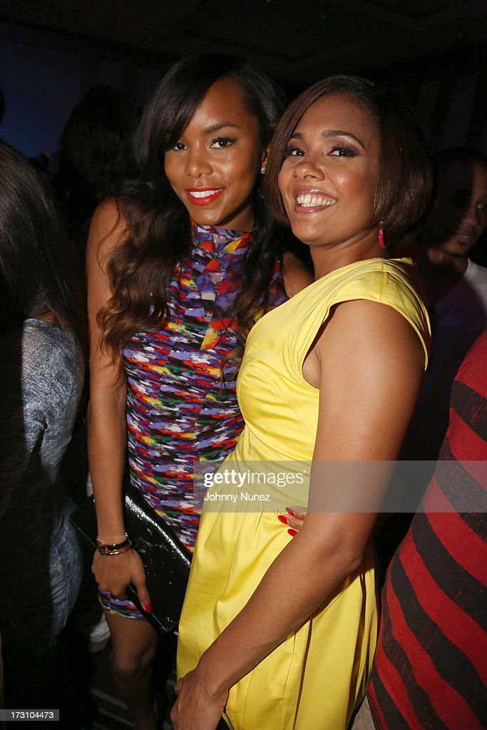 LeToya Luckett and Cori Murray attend the Essence Day party at the W New Orleans on July 6, 2013 in New Orleans, Louisiana.