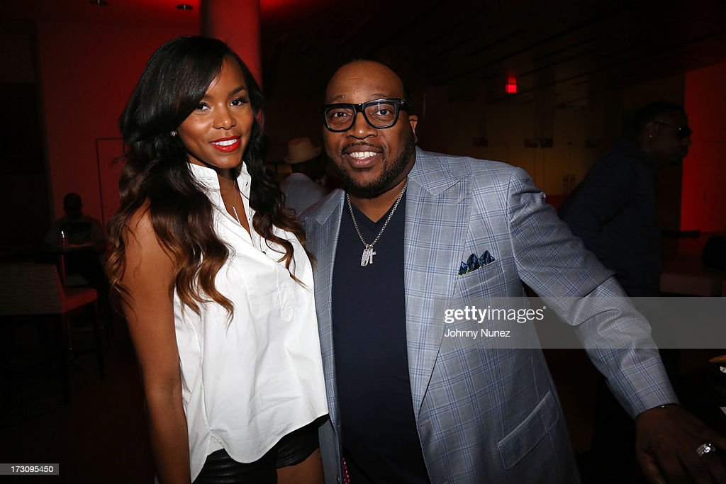 LeToya Luckett and Marvin Sapp attend the 2013 Essence Festival at the Mercedes-Benz Superdome on July 6, 2013 in New Orleans, Louisiana.