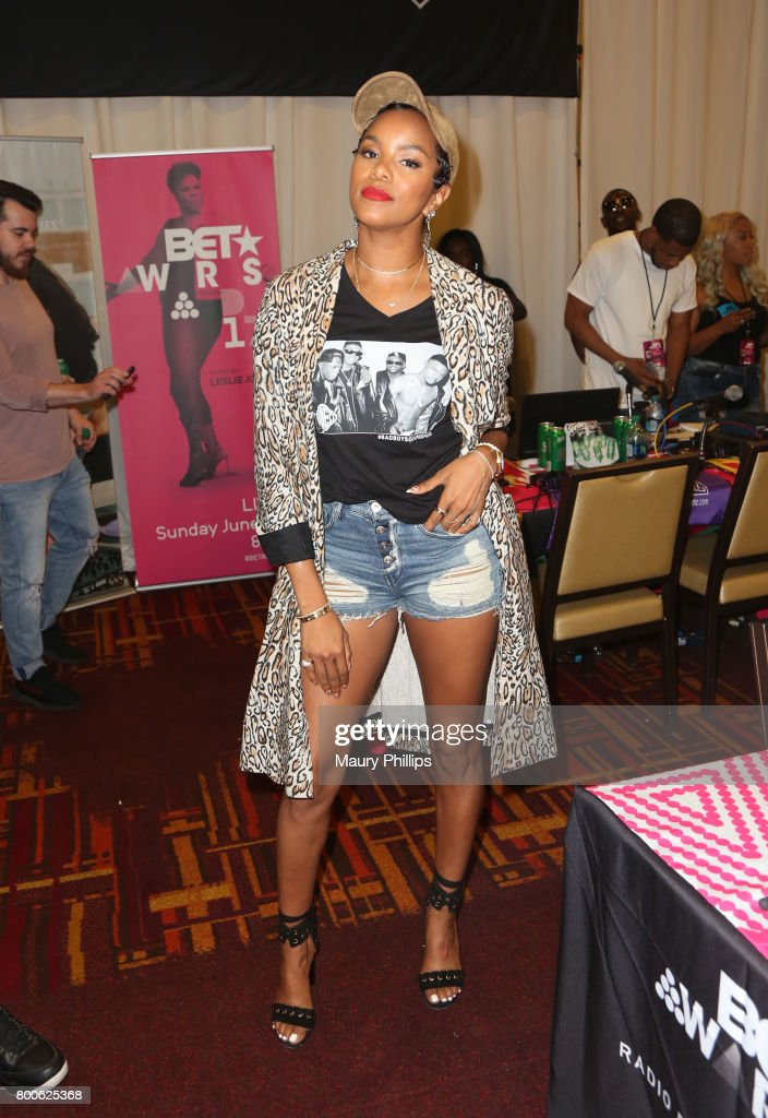 LeToya Luckett at day 2 of the Radio Broadcast Center, sponsored by Sprite, during the 2017 BET Awards at Microsoft Square on June 24, 2017 in Los Angeles, California.