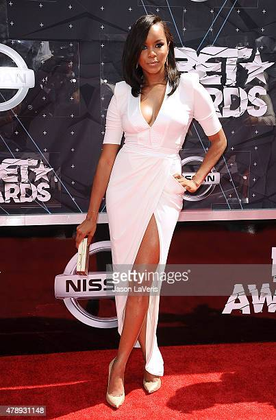 LeToya Luckett attends the 2015 BET Awards at the Microsoft Theater on June 28 2015 in Los Angeles California