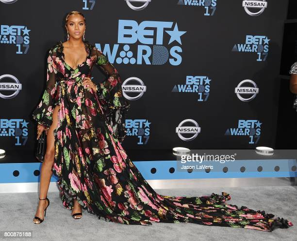 LeToya Luckett attends the 2017 BET Awards at Microsoft Theater on June 25 2017 in Los Angeles California
