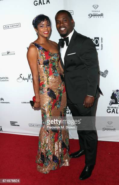 LeToya Luckett attends the Wearable Art Gala at California African American Museum on April 29 2017 in Los Angeles California