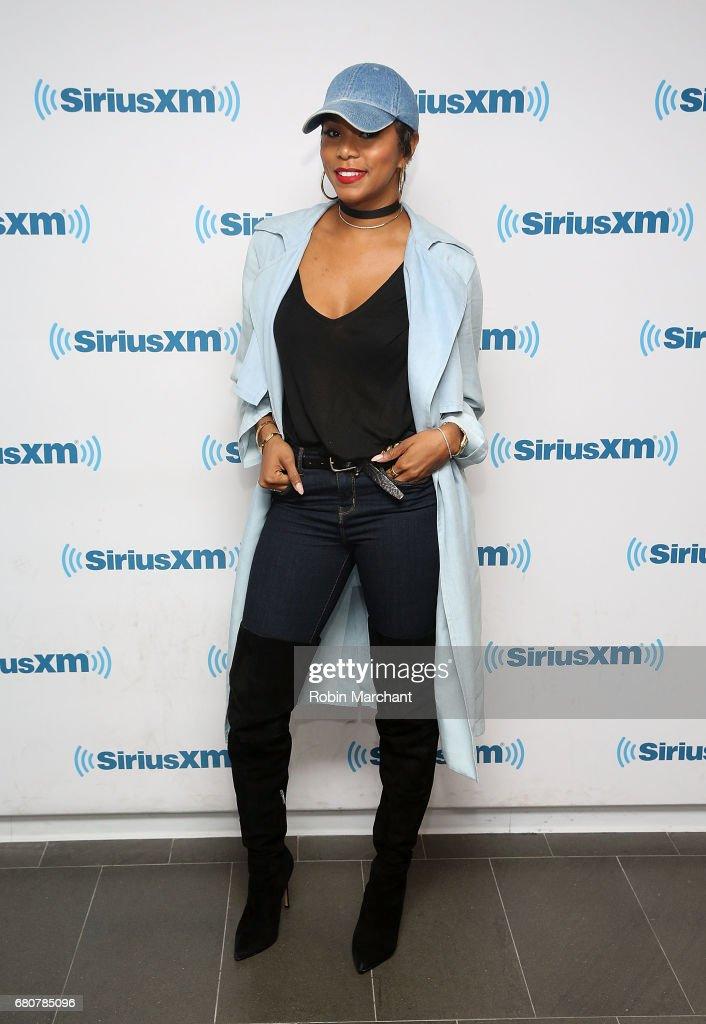 Letoya Luckett visits at SiriusXM Studios on May 9, 2017 in New York City.