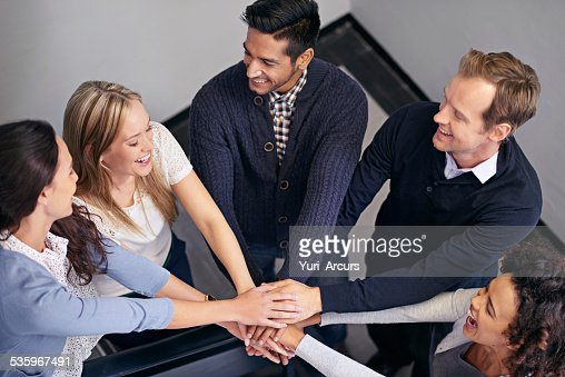 Let's do this team! : Stock Photo