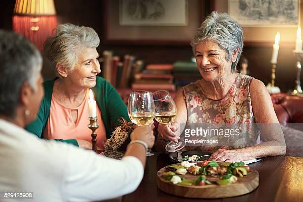 Let's trinken, ein Leben lang Freude