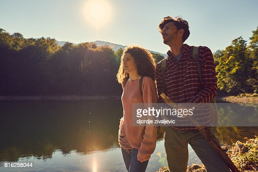 let's explore! : Stock Photo