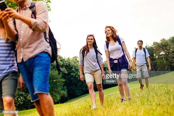 Lets find right directions for our hiking adventure
