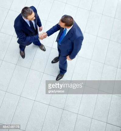 Let's get straight down to business : Stock Photo