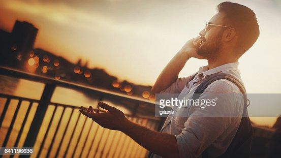 Let's meet on the bridge.