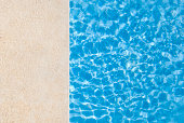 Edge of e swimming pool.Related images;