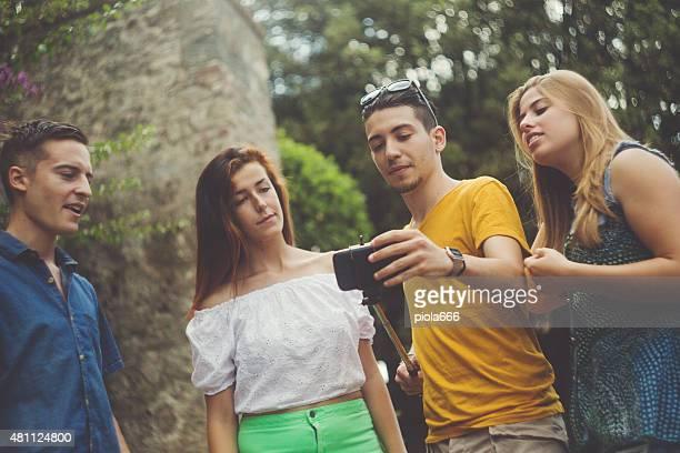 Nous allons prendre un selfie