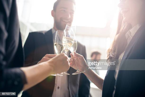 Let's toast to our success