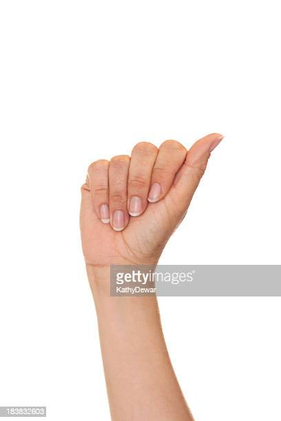 Letter A in American Sign Language