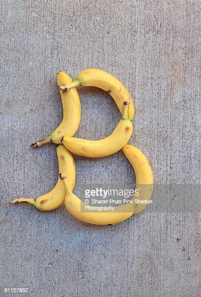Letter B for Bananas