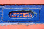 Letter box sign