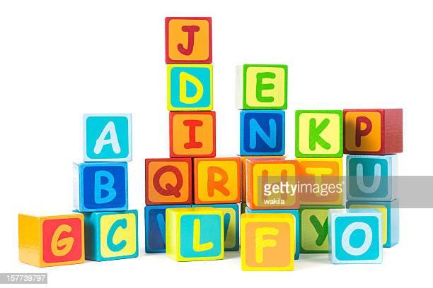 Lettera cubi-Buchstaben Bauklötze