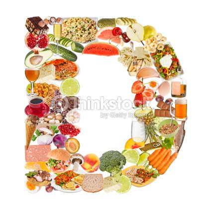 Letter d made of food stock photo thinkstock letter d made of food stock photo altavistaventures Images