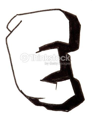 Lettre E De Lalphabet Dans Un Style Graffiti Photo | Thinkstock