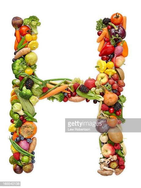 Letter H in produce
