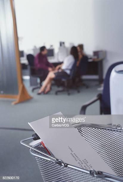 Letter Holder in an Office