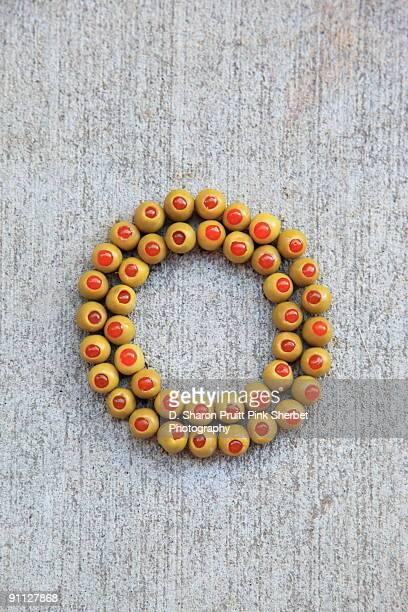 Letter O for Olives